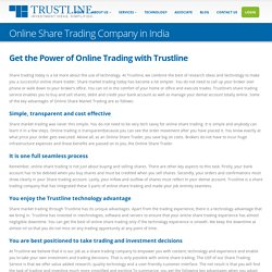 India's Best Online Share Trading Company