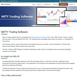Nifty Trading Software