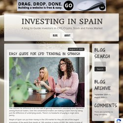 Investing in Spain - Investing Guide for Traders