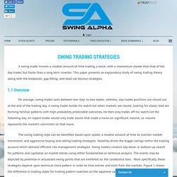 Swing Trade Alerts - Swing Alpha