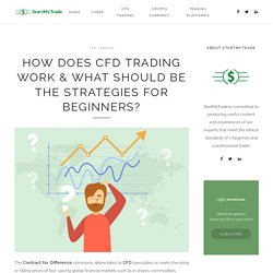 How Does CFD Trading Work & What Should be the Strategies for Beginners?