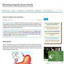 Obat Tradisional Gastritis Akut/Kronis, Mengobati Maag, Radang Lambung