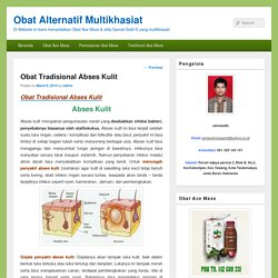 Obat Alternatif Multikhasiat