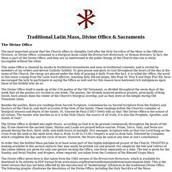 Rituel latin (accentué)