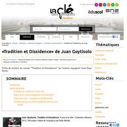 «Tradition et Dissidence» de Juan Goytisolo