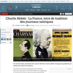 Charlie Hebdo : La France, terre de tradition des journaux satiriques