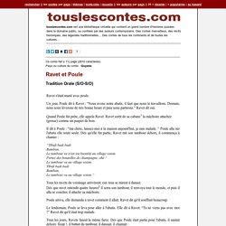 Ravet et Poule - Tradition Orale