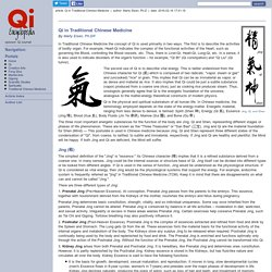 Qi in Traditional Chinese Medicine