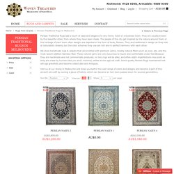 Woven Treasures Rugs Persian Traditional Collection