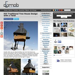 DIY Traditional Tree House Design with a Twist
