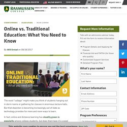 Online vs. Traditional Education: What You Need to Know