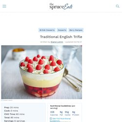 Traditional English Trifle Recipe