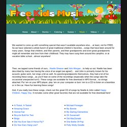 Traditional Childrens Songs - Free MP3 kindie song download & music videos from FreeKidsMusic.com