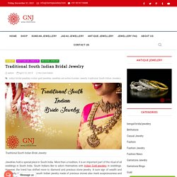 Traditional South Indian Bridal Jewelry- Gemnjewelery.com