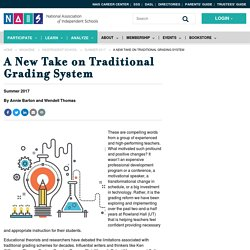 A New Take on Traditional Grading System