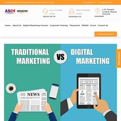 Traditional Marketing V/s Digital Marketing :