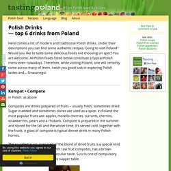 Top 6 traditional Polish drinks - Polish food list, photos & recipes