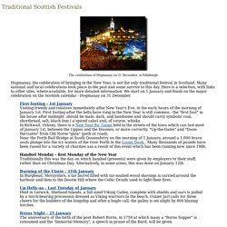 Traditional Scottish Festivals