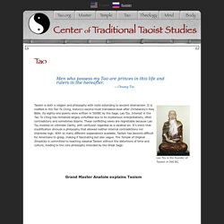 The Center of Traditional Taoist Studies