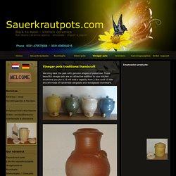 traditional vinegarpots vinegar pots making vinegar