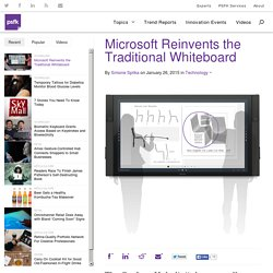 Microsoft Reinvents the Traditional Whiteboard