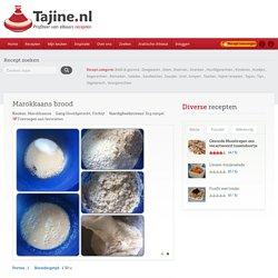 Marokkaans brood voor traditionele Marokkaanse gerechten