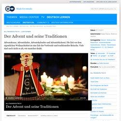 Der Advent und seine Traditionen