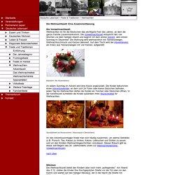 Deutsche Feiertage, Feste und Traditionen - Weihnachten in Deutschland
