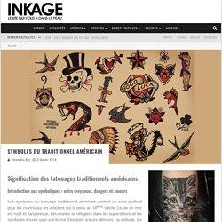 Symboles du traditionnel américain – Inkage