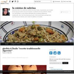 """ghribia à l'huile """"recette traditionnelle algeroise"""" - la cuisine de sabrina"""
