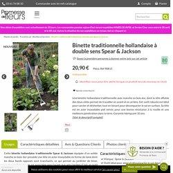 Binette traditionnelle hollandaise à double sens Spear & Jackson