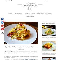 La recette traditionnelle italienne des Carbonara ! La vraie !