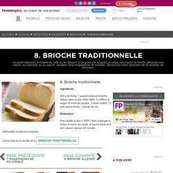 8. Brioche traditionnelle : Nos 15 recettes de brioches maison