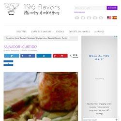 Curtido : condiment au vinaigre du Salvador