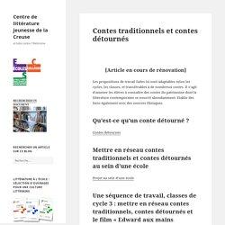 Contes traditionnels et contes détournés – Centre de littérature jeunesse de la Creuse