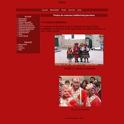 Photos de costumes traditionnels péruviens - Pérou