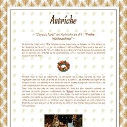 Traditions De Noël En Autriche