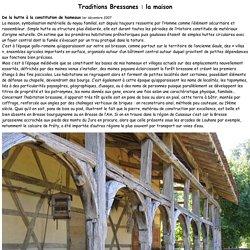 Traditions Bressanes : la maison