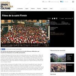 Fêtes de la saint Firmin. Fêtes et traditions à Pampelune, Navarre sur Spain is Culture.