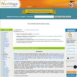 en virtud de esto - traducción de inglés - Diccionario Español-Inglés de Word Magic