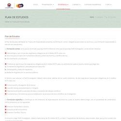 Máster en Traducción Especializada (Inglés, Francés, Alemán y Español)