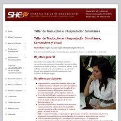 Taller de Traducción e Interpretación Simultánea