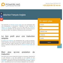 Traducteur Français Anglais Powerling