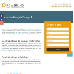 Traduction Français Espagnol Powerling