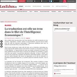 La traduction est-elle un trou dans le filet de l'Intelligence Economique?