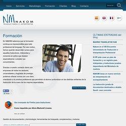 Formación « NAKOM Traductores e Intérpretes