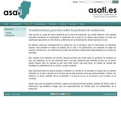 Asati.es  Asociación Aragonesa de Traductores e Intérpretes