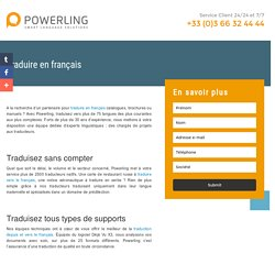 Traduire en Français Powerling