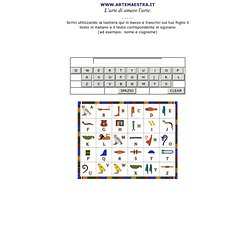 Traduttore di geroglifici egiziani