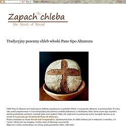 Tradycyjny pszenny chleb włoski Pane tipo Altamura